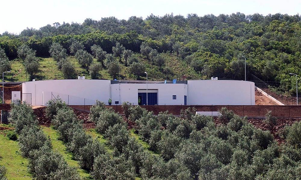 Abastecimento de água a Sousel (2a fase) - Reservatório de S. Bartolomeu