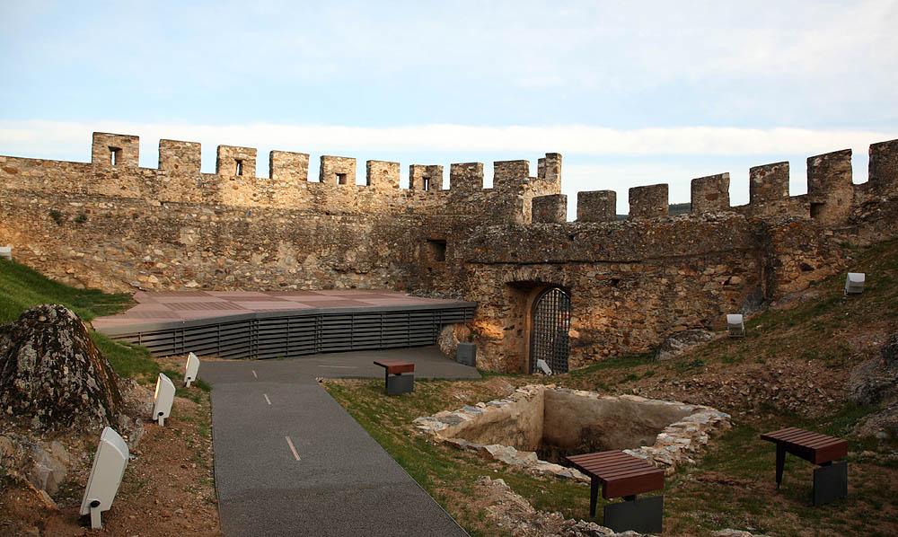 Reabilitação do Castelo e Castelejo de Alegrete (Interior)