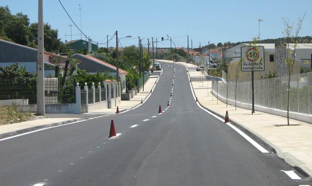 Requalificação das Estradas de Vila Boim