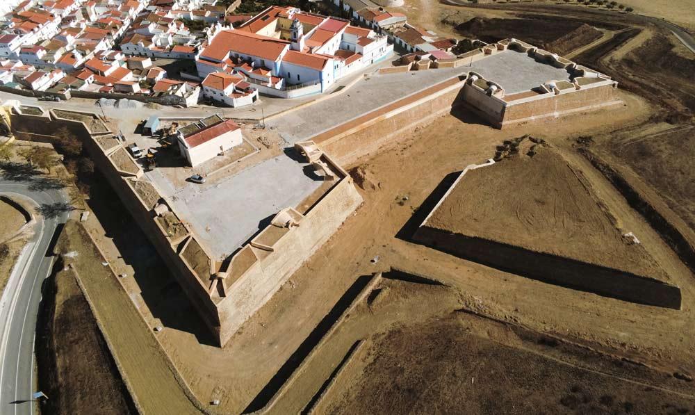 Requalificação da fortificação Abaluartada de Campo Maior